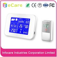 Fashion new design indoor weather station clock