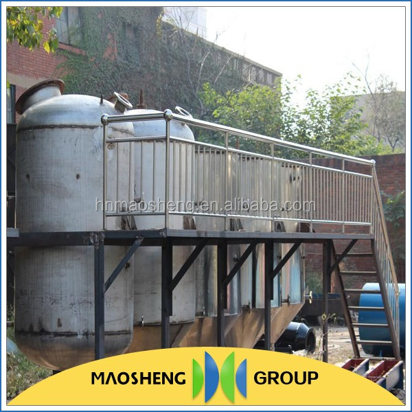Small modern coconut oil refining equipment