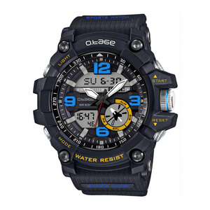 Digital watch Shock Men's Analog Quartz Digital electronic Watch Men G Style Waterproof plastic Sports Watches