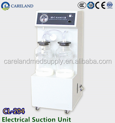 CE & ISO approved Electric Suction Machine CL-204