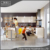 Factory direct sales aluminum handlle free design modular kitchen cabinet