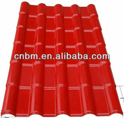 ASA Synthetic resin roofing tiles