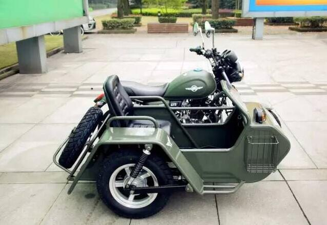 200cc Four-stroke sidecar motorcycle