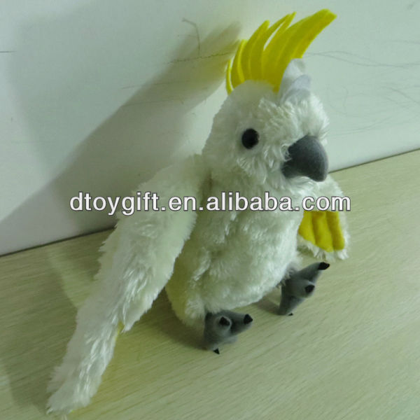 Stuffed Plush Cockatoo