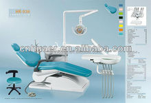 Dental Chair Unit with LED sensor lamp light cure and scaler with CE approved