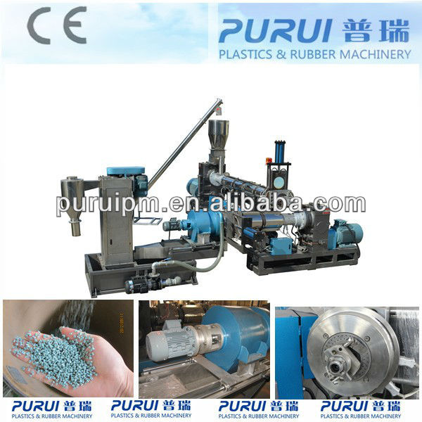 PP/PE film recycling machine/film granulating machinery