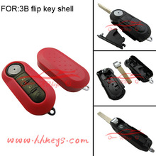 Good replacement 3 button remote car key fit for Fiat 500