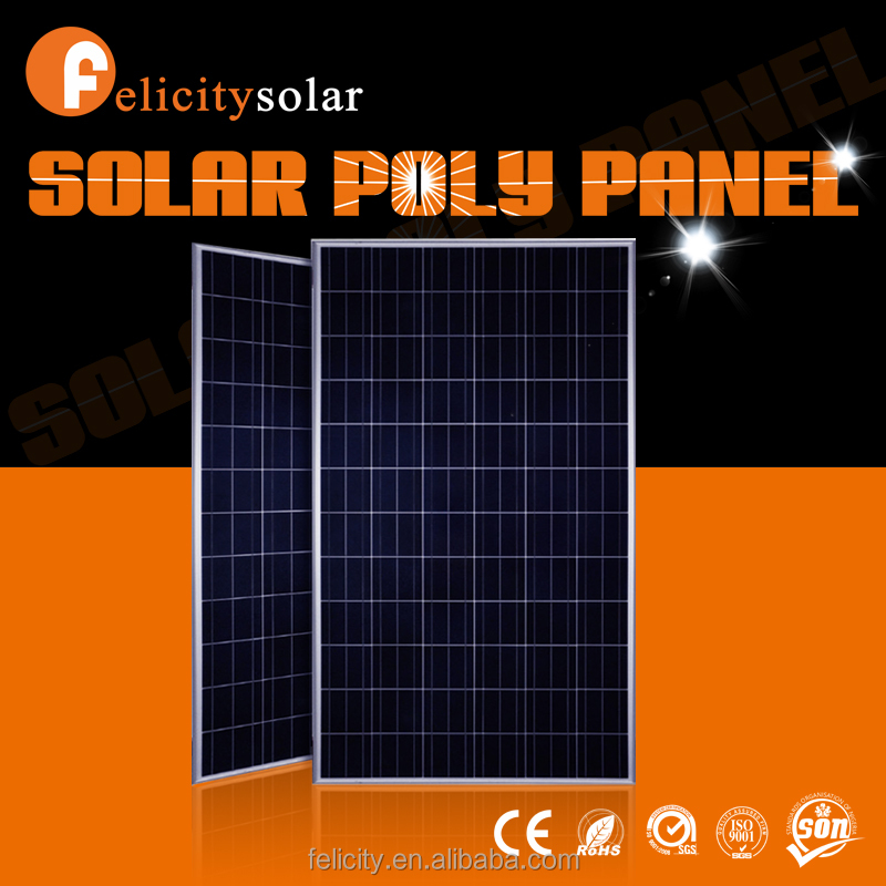 2015 high quality 300w the lowest price photovoltaic sunpower solar panel