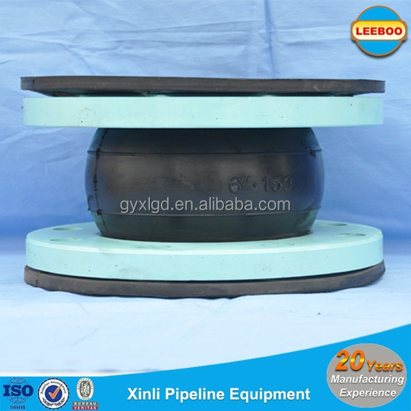 oil resistant high pressure stainless steel rubber expansion pipe joints