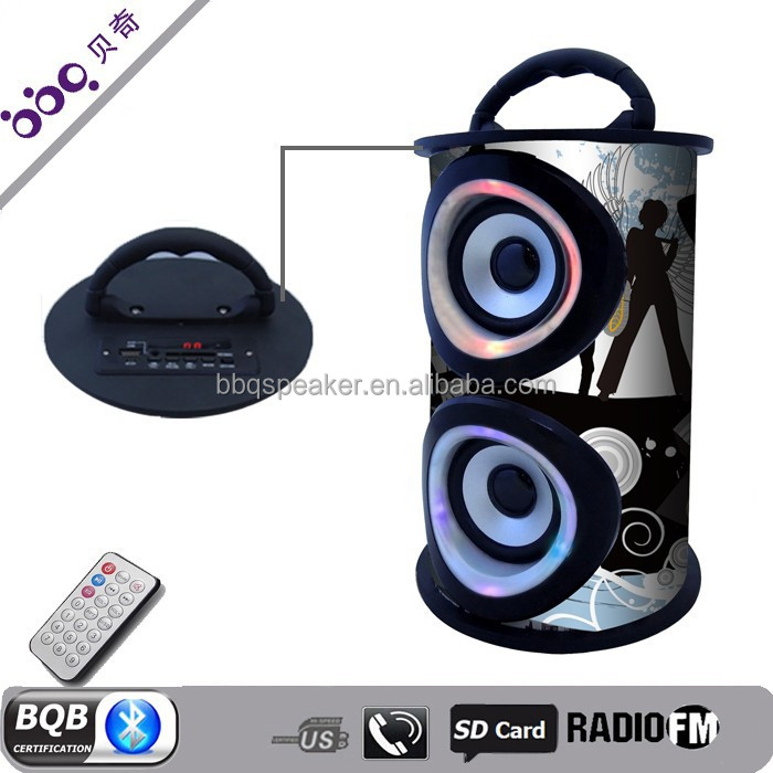 New color design portable wireless bluetooth digital speaker processor