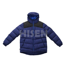 Hot sale new design outdoor ultralight impact shiny down jacket for men
