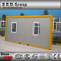 Modern living prefabricated export prefab container house
