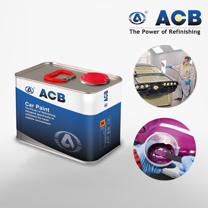 ACB fish-eye killer painting accessory car paints