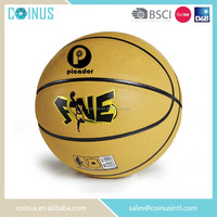 Cheap price moisture absorbent leather basketball ball