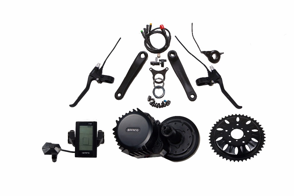8Fun bbs01 mid drive motor ebike kit with LCD display