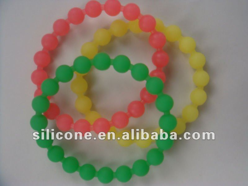 2012 new style olympic silicone wristbands