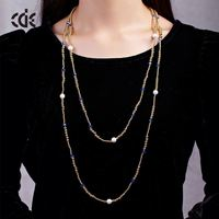 Artificial Jewellery Long Chain Gold Necklace Designs In 3 Grams