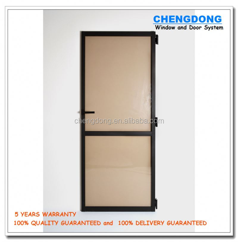 Classic style luxury interior wooden single leaf doors