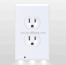 LED Night Lights Square White Guidelight Outlet Coverplate Angel