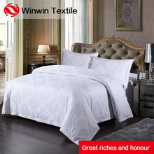 Comfortable pure Polyester cotton Hotel linen bedding set life comfort sheet set