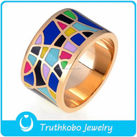 TKB-R0310 Guangzhou Jewellers Price Colors of the Mood Cheap Rings