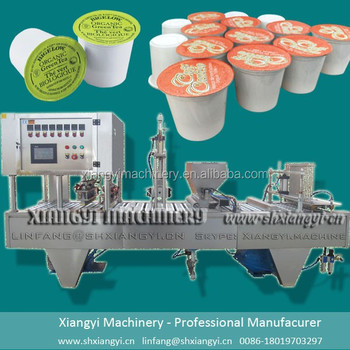 K cup filling machine/K cup sealing machine/K cup filling equipment.