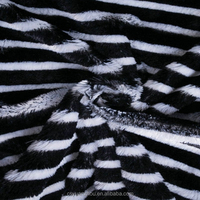 striped fleece upholstery fabric for sofa