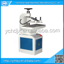 Latest Style swing arm cutting press machine for shoe and leather goods