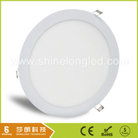 Built-in panel dimmable round led panel light for bedroom and indoor lighting with DALI Dimmable Driver