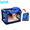 Manufacturer wholesale custom logo cheap pet carrier Soft Folding Dog Crate