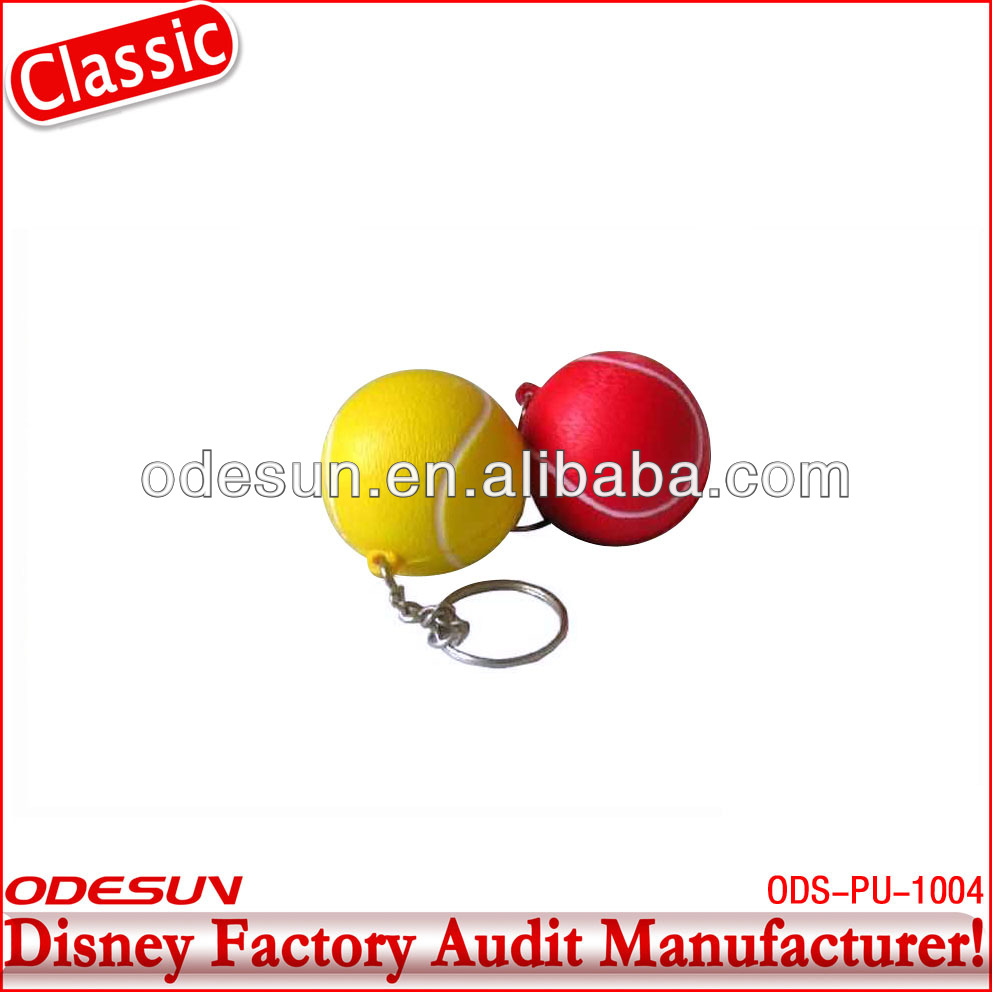 NBCU factory audit manufacturer's tennis stress ball 142012