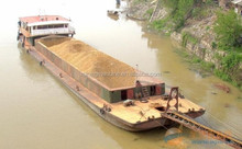 small type sand transportation barge