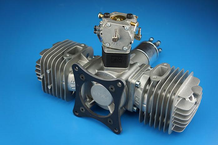 Original Dle111 111cc Gasoline Twin Engine For Rc Airplane