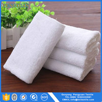 white cotton disposable guest towels made in China
