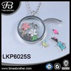 316L Stainless Steel 30mm Floating Locket Glass Locket
