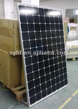 HOT SALES!!! 240W sunpower solar panel using American sunpower solar cell for solar system with TUV IEC CE RoHS certified