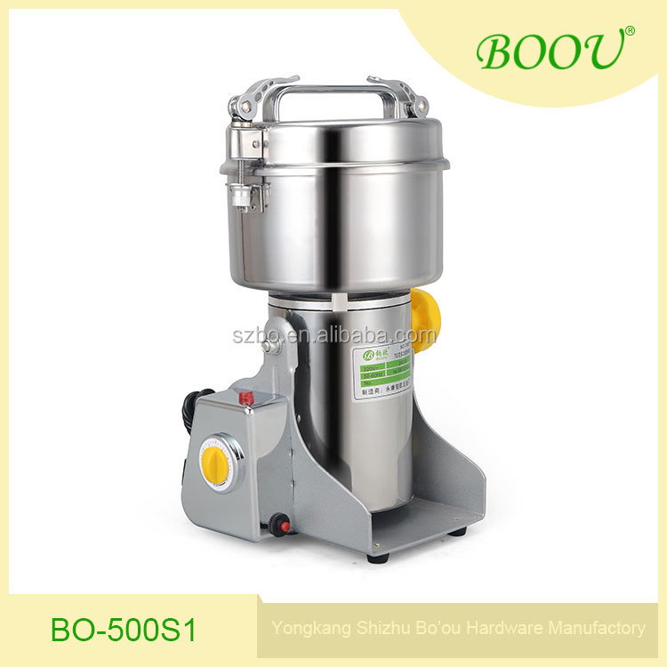 High speed Stainless steel spice grinder