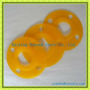 yellow silicon flange gasket