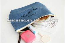 New Natural Fresh Cosmetic Makeup Bags Cases Pouch_INVITE.L _ Linen Pocket Pouch Makeup Travel Bag /Pencil Case /Clutch