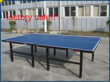 D9801 18mm single folding international sporting indoor OEM pingpong table table tennis table