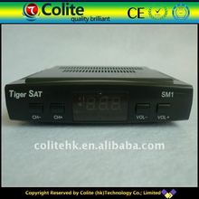 Mini DVB-S Satellite Receiver, Ali3328F or ali3329 or GX6101D, Support Twin Protocol