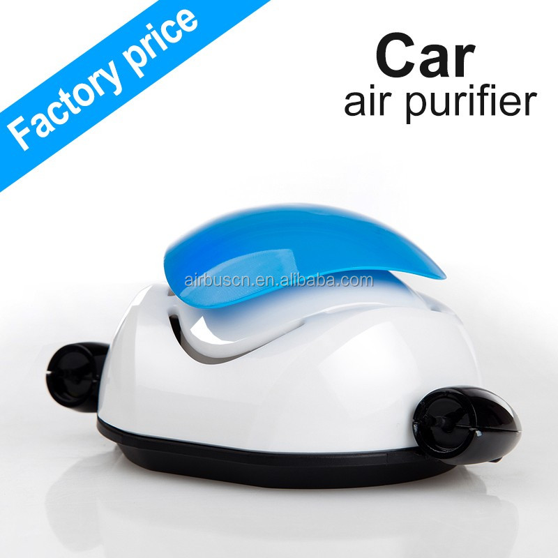 wholesale new portable air conditioner cars, negative ion mini usb robot purifier