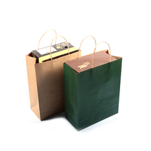 Custom Cheapest Shopping recycled brown kraft paper bag