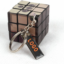 3x3 billboard advertising giveaways keychain magic cube