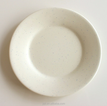 Food Grade Round Shape 100% Melamine Serving Plate /Plastic Bowl