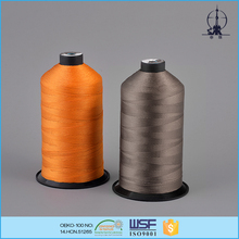 TEX60 TICKET40 210D/3 8G/D polyester bonded thread