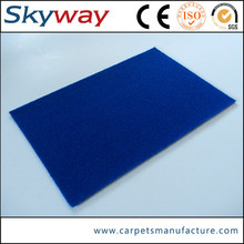 Small MOQ lower price polyester carpets floor covering events fair decoration