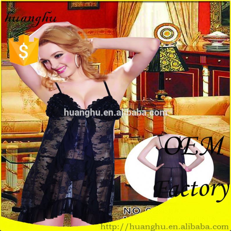 Chinese imports wholesale comfortable sheer adult lingerie models