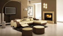 2015 New Design Top Garin Leather Corner Sofa for Living Room furniture 504B