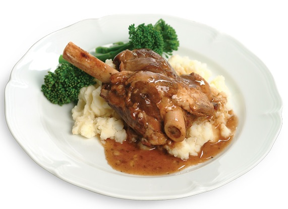 Marathon Chef Direct Lamb Shank - Red Wine & Rosemary 100% Australian Lamb (6 min heat and serve) new technology food dinner